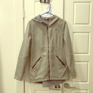 Hooded North Face jacket